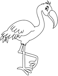 Flamingo Kleurplaat Gratis Kleurplaten Printen