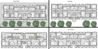Residential Layout Design Software Apartment Building Plans Projects With Dwg Resources Biblus