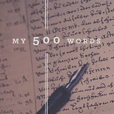 my words a writing challenge my 500 words widget