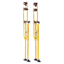 48 in to 64 in magnesium adjustable drywall stilts