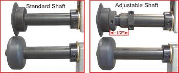 24 adjule shaft upgrade