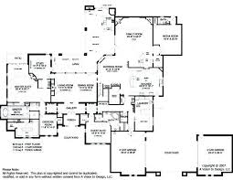 simple kitchen drawing. Large Luxury House Plans Home Designs Simple Kitchen Ranch Drawing