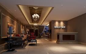 China High end Hair salon interior design Classic wooden Furniture