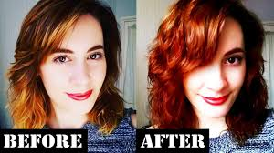 Light Copper Brown Hair Color How I Color My Hair At Home Light Copper Brown
