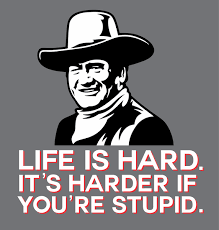 Life Is Hard Its Even Harder If You're Stupid Make Vancouver New Life Is Hard Its Harder If Youre Stupid Poster