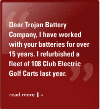 trojan battery company technology info golf and utility vehicles