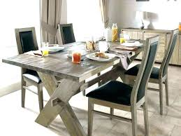round rustic dining table room sets