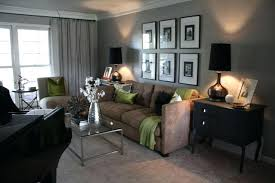 gray and brown living room ashes grey brown living room instead green accents gray brown living