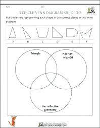 Venn Diagram Sheet Venn Diagram Problems Worksheet Espace Verandas Com