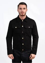 porter denim jacket black