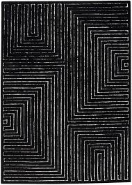 black and white rug patterns. Interesting And MAT The Basics 16WT Toledo Area Rug And Black White Patterns H