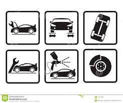 auto repair icon. Contemporary Repair Car Repair Icons Stock Illustration Inside Auto Repair Icon R