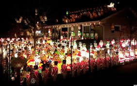 santa army takes over yard in this extreme christmas decoration