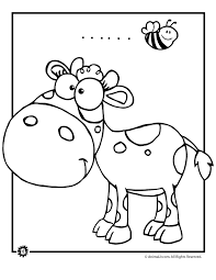Small Picture Cow Coloring Pages Animal Jr