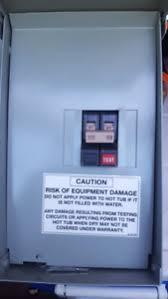 hot tub breaker box kijiji in ontario buy sell save brand new 50 amp fuse panel