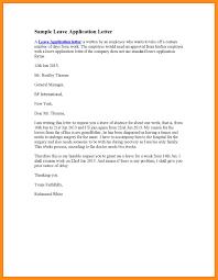 13 Work Leave Letter Agenda Example