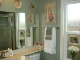 sage green bathroom paint. Trendy Tiny Bathroom Decors With Vanities Table Added Wall Mirror Also Artwork Pictures Over Towel Bar Hang On Green Painting Ideas Sage Paint E