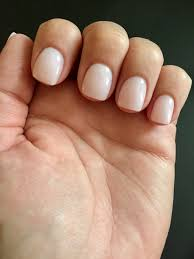 sns bc4 light pink with sparkles nails glitter colors