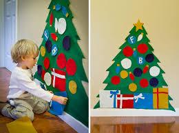 VIEW IN GALLERY How to DIY Kids Play Felt Christmas Tree Wonderful Kids  crafts DIY Felt Christmas Tree