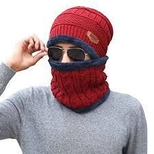 Leegoal Winter Beanie <b>Hat</b> Scarf Set, <b>2019 Unisex</b> Warm Knitted ...