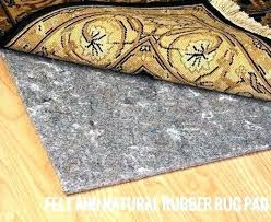 rug pads for wood floors felt hardwood pad 8 and natural rubber 9 thick awesome natural rubber and felt rug pad