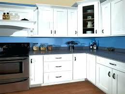 painted shaker style kitchen cabinets home depot paint for cognac cabine
