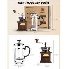 SALEBộ bình pha cà phê cổ điển từ hạt BELGIAN POT - Bộ dụng cụ pha chế cà  phê thủ công - Máy pha cà phê