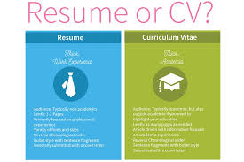 Vitae Vs Resume Best CV Vs Resume The Basics You Need To Know Resume