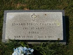 Corp Edward Byron Chapman (1930-1989) - Find A Grave Memorial