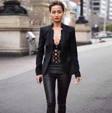 leather pants outfits ideas 82