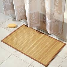 tan and white bathroom rugs simple bamboo bath mat tan and white bathroom rugs