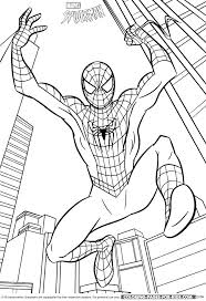 printable spiderman coloring pages free