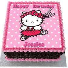 Hello Kitty Birthday Cake Flecks Cakes
