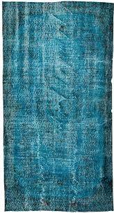 vintage over dyed rug