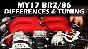 MY17 Toyota 86 / Subaru BRZ - What's different and Tuning advice ...