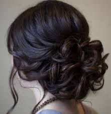 Hairstyles For Formal Dances Beautiful Low Prom Updo Hairstyle With Loose Soft Curls Wedding