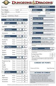 dungeons and dragons character sheet online 16 november 2010 wielding a bohemian ear spoon