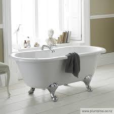 bathroom baths nz. kingsbury 1500 claw foot double ended bath bathroom baths nz