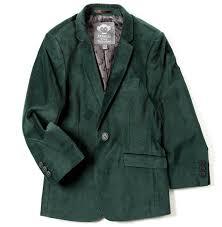 Appaman Boys Forest Green Velvet Mod Blazer The Borrowed