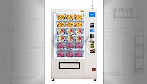 Fresh Smoothie Vending Machine Best Salad Vending Machine Vegan Or Healthy Fresh Food Vending Machines