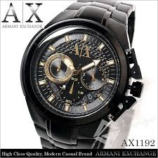 amonduul rakuten global market in armani birthday present in armani birthday present christmas for armani exchange armani exchange watch men ax1192 chronograph black x