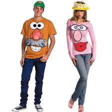 mr and mrs potato head. Contemporary And Mr And Mrs Potato Head Couples Costume Kit In Mr And Mrs