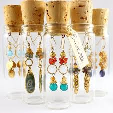 Corked vial packaging By Briolette Jewelry
