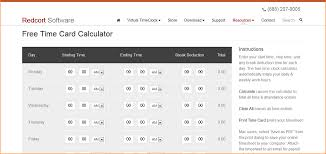 Copleys Time Card Calculator Free