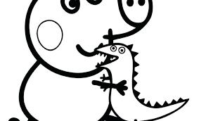 peppa pig printable coloring pages pdf pics cartoons of