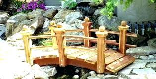 small garden bridges wooden for bridge plans s