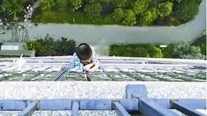 Boy railing neighbours wife