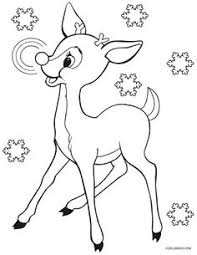Rudolph Bumble Coloring Pages Diy Crafts Ideas Children Adults