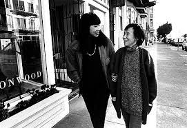 amy tan and her mother daisy at home in san francisco they  amy tan mother tongue full text mother tongue by amy tan tongue tied by santa ana 爱在纽约爱