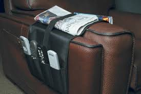 a remote control caddy can be perfect for keeping remotes close to where you sit
